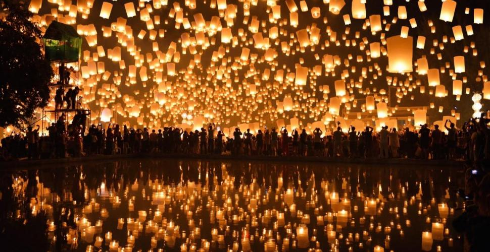 Loy Krathong Thai Festival - A Tribute to The Water Spirits