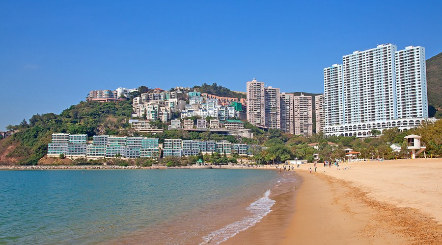 Hong Kong Repulse Bay - Public Beach on Hong Kong Island